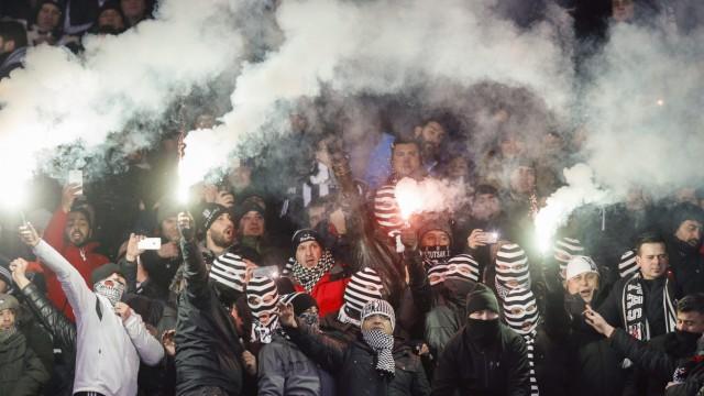 Fans von Besiktas Istanbul