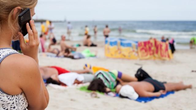 Telefonieren im Urlaub