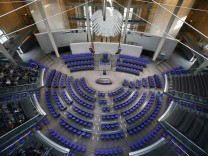 A general view of the lower house of German parliament Bundestag in Berlin