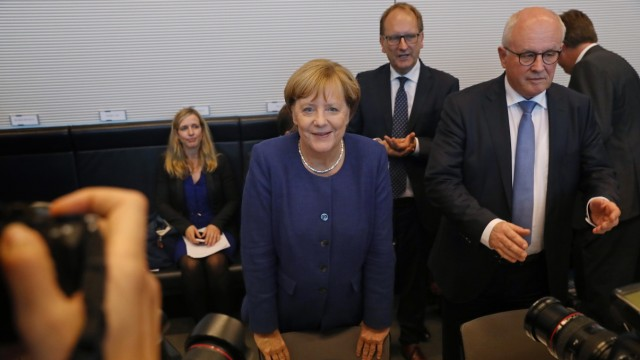 **BESTPIX** CDU Bundestag Meets Following Federal Elections