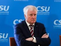 CSU-Chef Horst Seehofer nach der Wahlschlappe