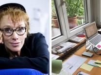 Schriftsteller über ihre Schreibtische Sybille Berg