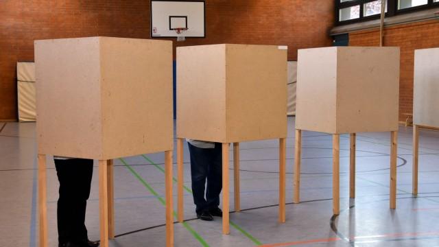 Erding Wahlbeteilung in Erding