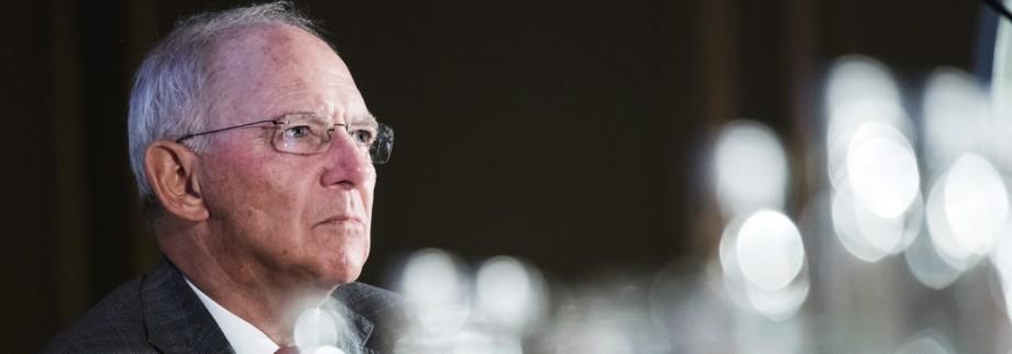 Bundesfinanzminister Wolfgang SchâÄ°uble
