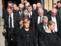 Trauerfeier für Heiner Geißler