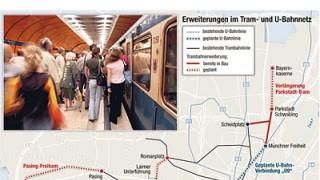 Stadtleben Ausbaupläne für die U9