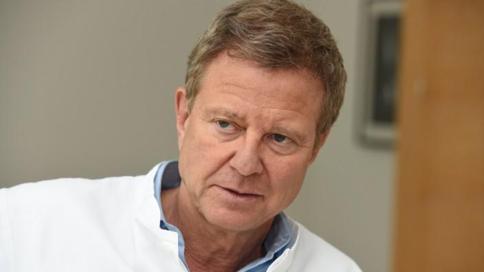 Rüdiger Lange vom Deutschen Herzzentrum in München, 2015