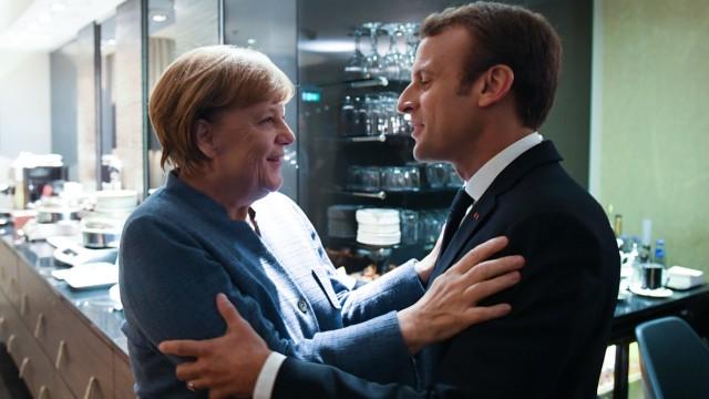 Angela Merkel EU-Gipfel in Tallinn