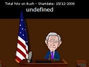 Bushs Schuhattacke als Online-Spiel