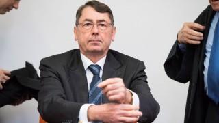Hypo Real Estate Prozess in Muenchen Der ehemalige Hypo Real Estate Vorstandsvorsitzende Georg Funke