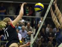 München: Volleyball, 2. Bundesliga Frauen: DJK Sortbund München Ost - SV Lohhof