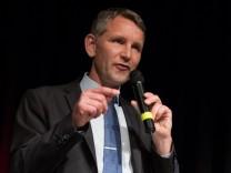 Wahlkampfauftritt Björn Höcke