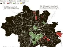 Grafik Superbild Gewinner Wahlbezirke München