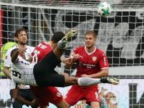 Fußball 1 Bundesliga Eintracht Frankfurt VfB Stuttgart 7 Spieltag am 30 09 2017 in der Commerz