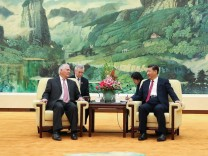 U.S. Secretary Of State Rex Tillerson Visits China