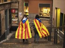 nach dem Referendum in Katalonien
