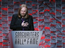 FILE PHOTO: Musician Petty speaks to guests after being inducted during the 47th Songwriters Hall of Fame Induction ceremony in New York