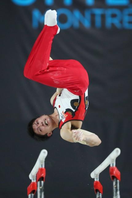 Kohei Uchimura JPN OCTOBER 2 2017 Artistic Gymnastics 2017 World Artistic Gymnastics Champio