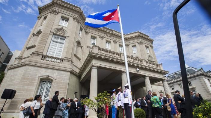 USA wollen Mitarbeiter der kubanischen Botschaft ausweisen