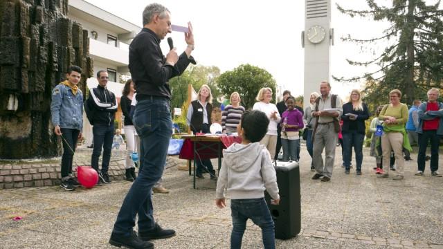 Puchheim: BILDUNGSPATENFEST auf Alois-Harbeck-Platz