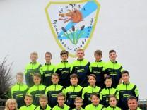 C-Jugend-Fußballmannschaft der SpVgg Röhrmoos Organspende