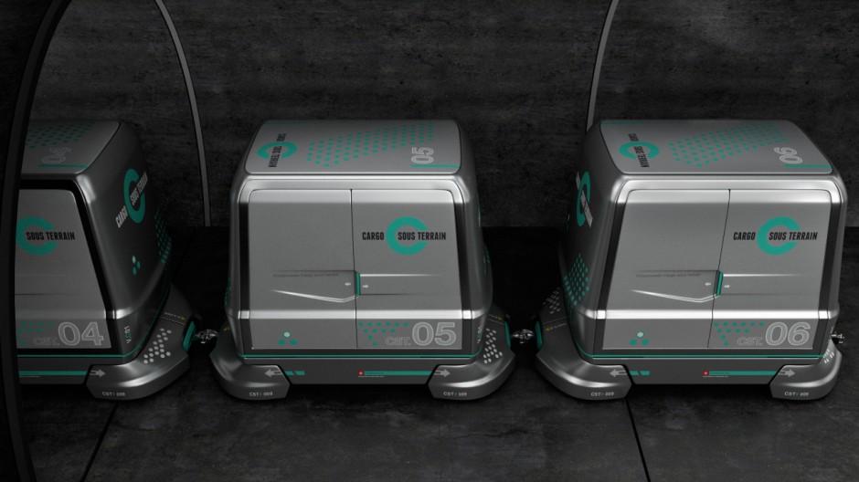 Tunnelprojekt für den Güterverkehr - Cargo Sous Terrain