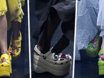 SZ-Magazin Modekolumne Crocs Balenciaga