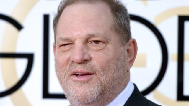 Filmproduzent Harvey Weinstein