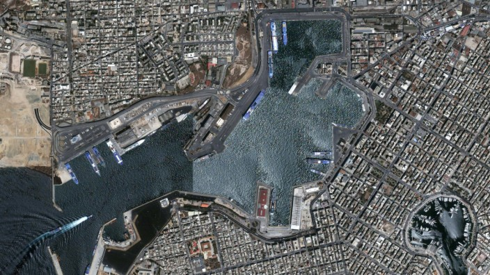 Port of Piraeus, Athens