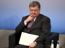 Ukraine President Poroshenko takes part in the 53rd Munich Security Conference in Munich