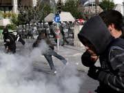 Proteste in Athen, dpa