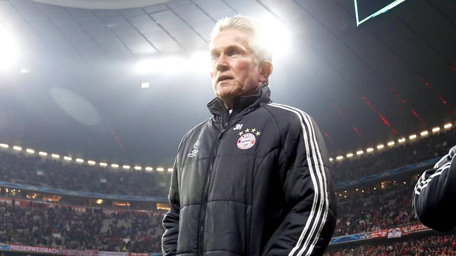 HEYNCKES Jupp Trainer Team FC Bayern Muenchen Fussball Champions League FC Bayern Muenchen Juventus