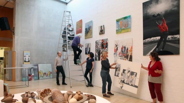 Offene Ateliers in Feldafing; Feldafinger Künstler stellen aus