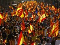 Demonstration gegen Unabhängigkeit