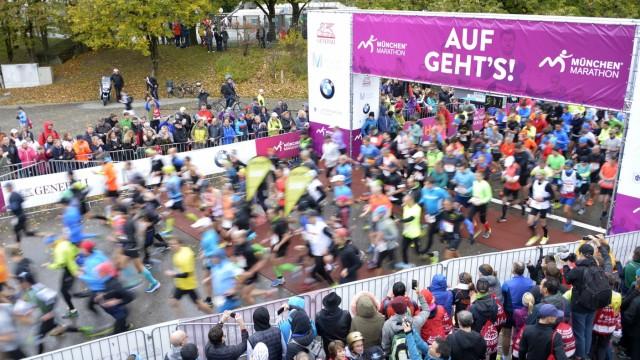 Regionalsport 32. München Marathon
