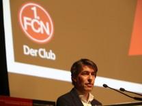 08 10 2017 Fussball 1 FC Nürnberg Nuernberg FCN Club Mitgliederversammlung Jahreshauptv