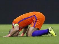 Fußball: WM-Qualifikation, Niederlande - Schweden 2:0