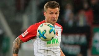 20170919 1 BL FCA vs RB Leipzig 1 Bundesliga WWK Arena Augsburg Fussball im Bild Daniel Baier; Daniel Baier
