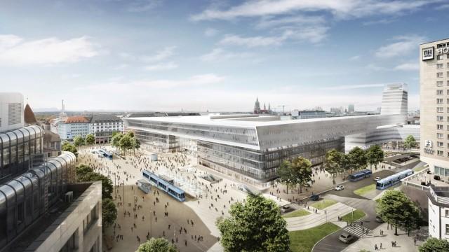 Verkehr in München Architektenentwurf
