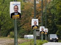 14 Tage nach der Wahl - Wahlplakate