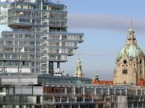 Neubau der Zentrale der Norddeutschen Landesbank, 2002
