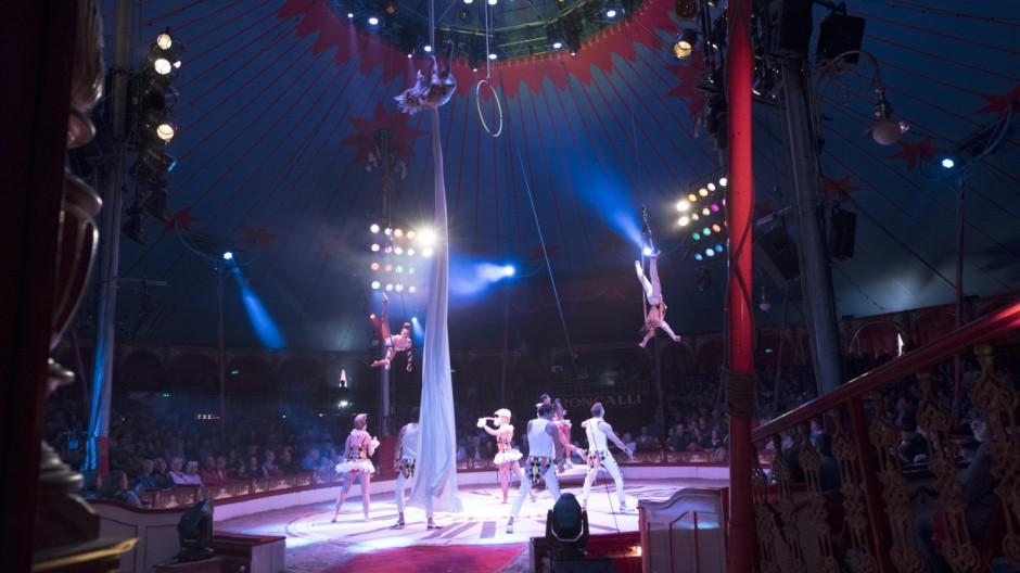 Freizeit in München und Bayern Zirkus in München