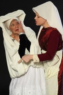 """Kathleen Ann Thompson """"Gnade, Dr. Luther?"""" mit  Agnes von Below"""