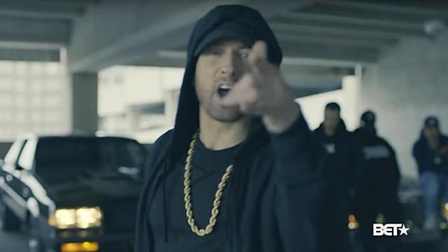 Pop Eminem und Trump
