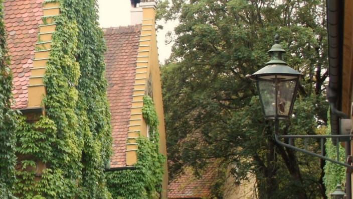Die Fuggerei in Ausgburg. Foto: oh