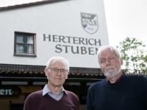 TSV Solln Urgesteine: Hans Bauer (links) und Willi Armbruster