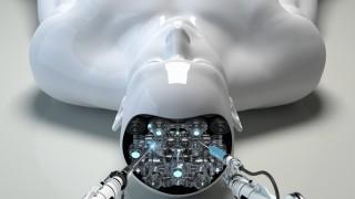 Roboterarm repariert Gehirn eines Androiden PUBLICATIONxINxGERxSUIxAUTxONLY OliverxBurston 10100241