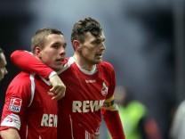 1. FC Köln - Podolski und Novakovic