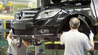 Mercedes C-Klasse - Produktion in Sindelfingen