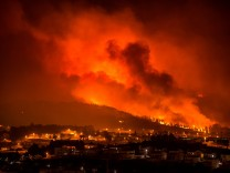 Waldbrände in Portugal Braga Fire Braga 10 16 2017 Fire broke out in Santa Marta Sameiro Taipa